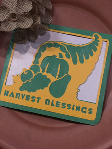 Harvest Blessings - Kards By Kyla