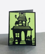 Load image into Gallery viewer, Haunted House - Kards By Kyla