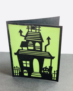 Haunted House - Kards By Kyla