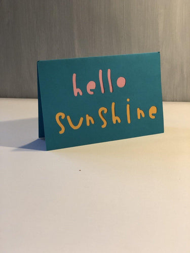 Hello Sunshine - Kards By Kyla