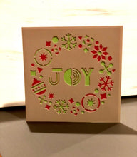 Load image into Gallery viewer, Joy Wreath - Kards By Kyla