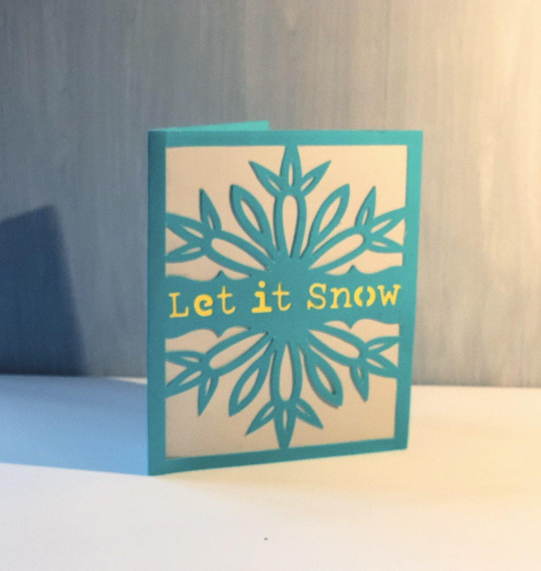 Let It Snow - Kards By Kyla