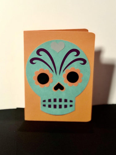 Mexican Themed Skull - Kards By Kyla