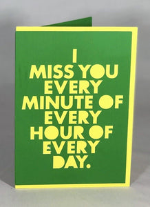 Miss You Every Minute - Kards By Kyla