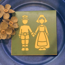 Load image into Gallery viewer, Pilgrim Couple - Kards By Kyla