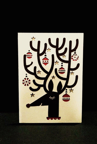 Reindeer Ornaments - Kards By Kyla