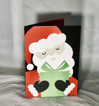 Load image into Gallery viewer, Santa Holding Gift - Kards By Kyla