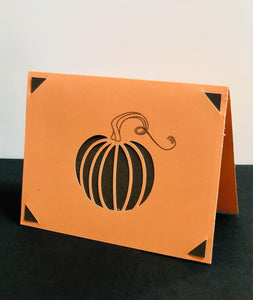Simple Pumpkin - Kards By Kyla