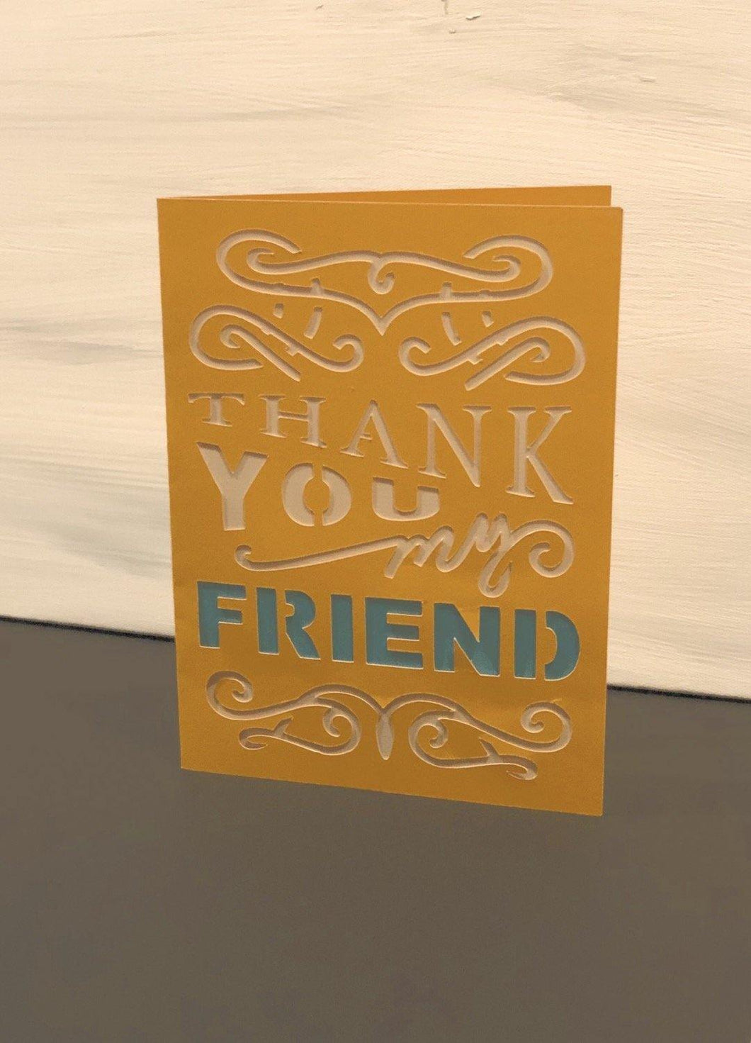 Thank You For Being a Friend - Kards By Kyla