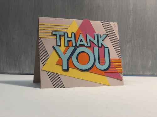 Thank You (Geometric) - Kards By Kyla