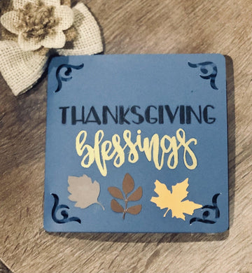 Thanksgiving Blessings - Kards By Kyla