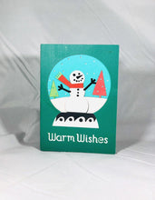 Load image into Gallery viewer, Warm Wishes Snowglobe - Kards By Kyla