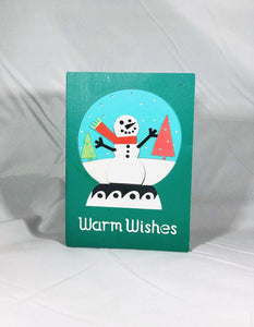 Warm Wishes Snowglobe - Kards By Kyla