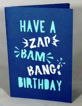 Load image into Gallery viewer, Zap Bam Bang Birthday - Kards By Kyla