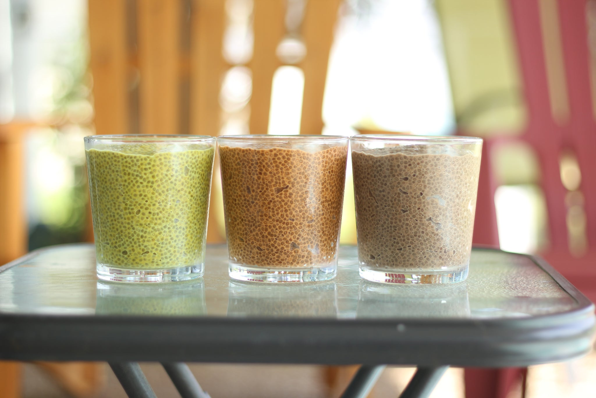 Chia Pudding 3 Ways