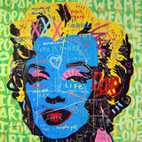 Take Marilyn Out Of The Box Tableau en toile