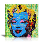 Take Marilyn Out Of The Box Tableau en toile 40 x 40 cm / Chassis
