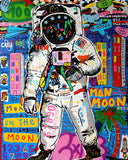Man On The Moon Tableau en toile