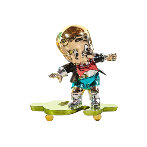 Richie Dollar Skate Board Sculpture et Statue 80 cm