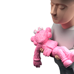 Authors Project Kaws Pink Sculpture et Statue