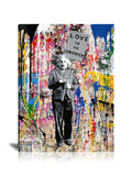 Albert Einstein Love Is The Answer Tableau en toile 60 x 80 cm