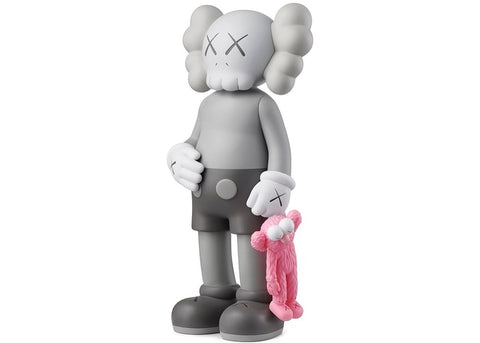 Kaws Share - Grey Sculpture et Statue