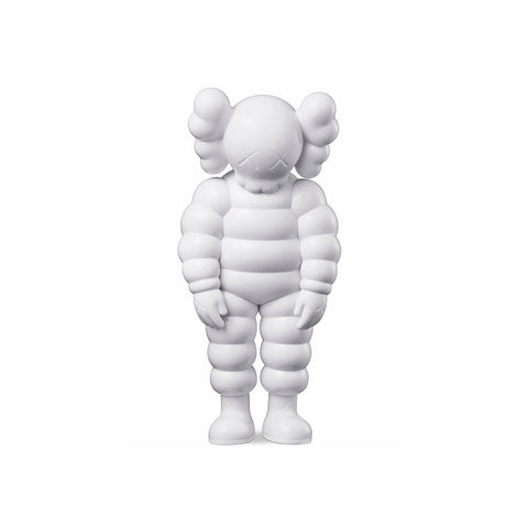Kaws What Party - White Sculpture et Statue