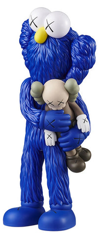 Kaws Take - Blue Sculpture et Statue