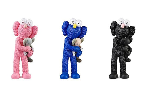 Kaws Take Set of 3 Sculpture et Statue