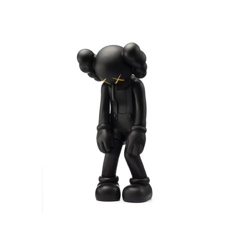 Kaws Small Lie - Black Sculpture et Statue