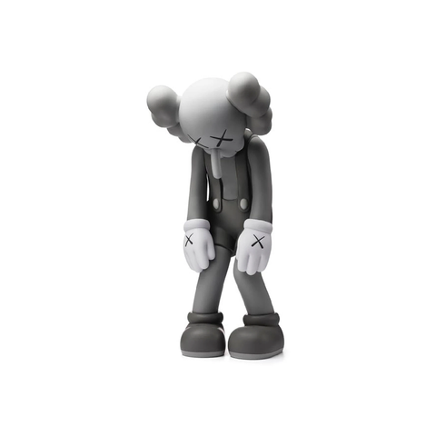 Kaws Small Lie - Grey Sculpture et Statue