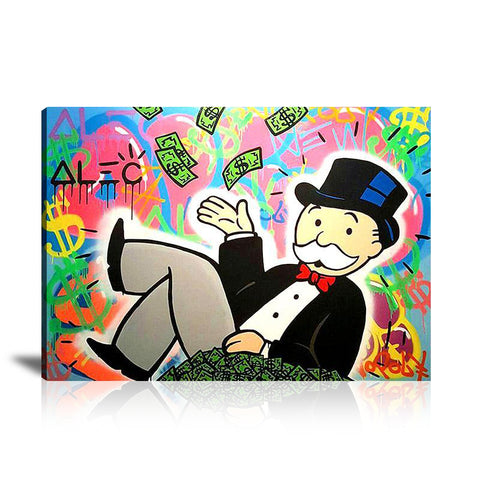 Magic Hat Tableau en toile 40 x 60 cm / Chassis