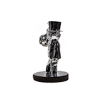 Monopoly Standing With Money Bag Sculpture et Statue