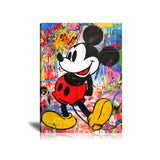 Mickey Mouse Pow Tableau en toile 40 x 60 cm / Chassis