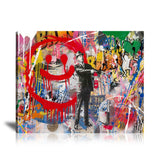 Spray Happiness Tableau en toile 40 x 60 cm / Chassis