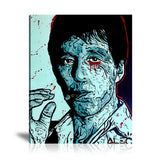 Scarface Tableau en toile 40 x 60 cm / Chassis
