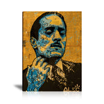 De Niro Icon The Godfather Tableau en toile 40 x 60 cm / Chassis