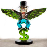 Monopoly Money Wings Sculpture et Statue