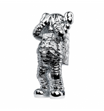 Kaws Holiday Space - Silver Sculpture et Statue