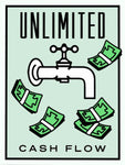 Unlimited Cash Flow Tableau en toile