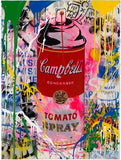 Campbell's Tomato Spray Tableau en toile