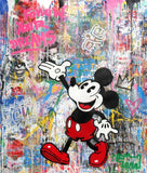 Mickey Follow Your Dreams Tableau en toile