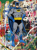 Batman Art Is Not A Crime Tableau en toile