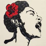 Billie Holiday Tableau en toile
