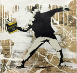 Book Thrower Tableau en toile