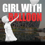 Girl With Balloon Banksy Sculpture et Statue