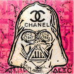 Chanel Sign x Dark Vador Tableau en toile