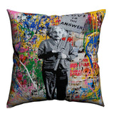 Einstein Love Is The Answer Housse de coussin Default Title