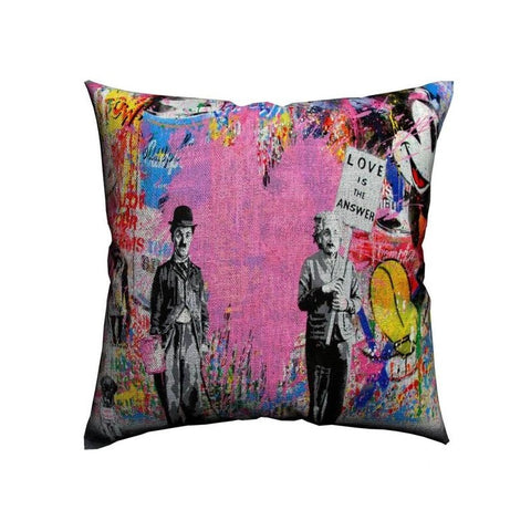 Love Is The Answer Housse de coussin