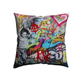 Never Give Up Housse de coussin
